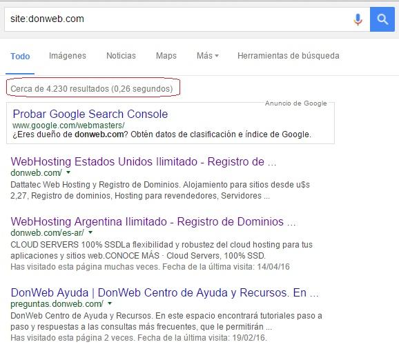 buscar en google con site