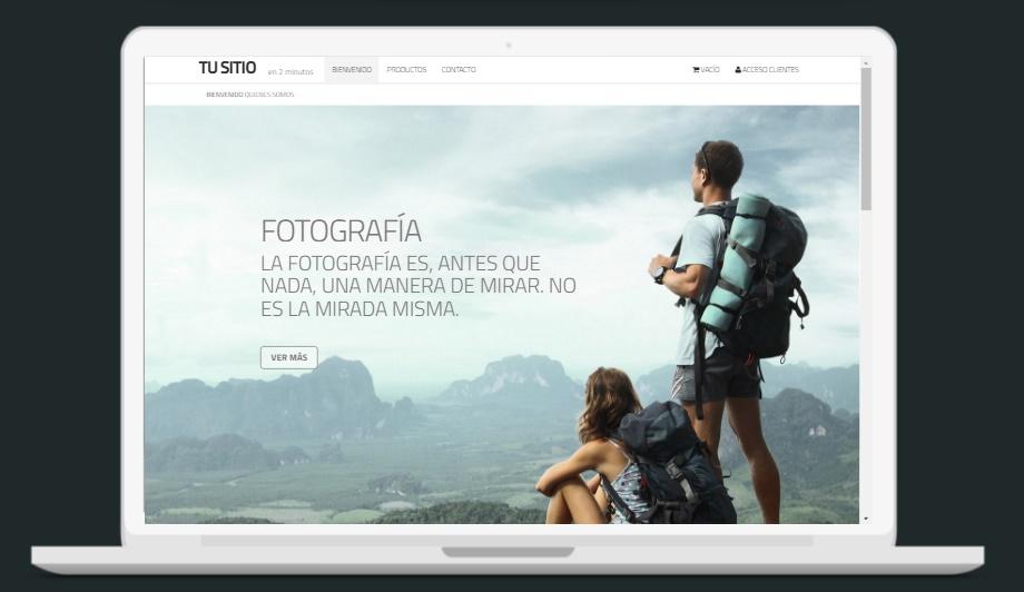 pagina web para fotografos