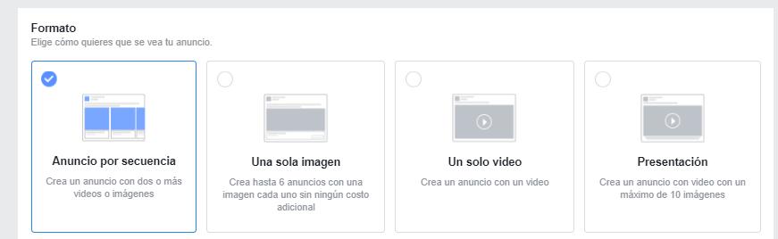 crear anuncio de faceboo