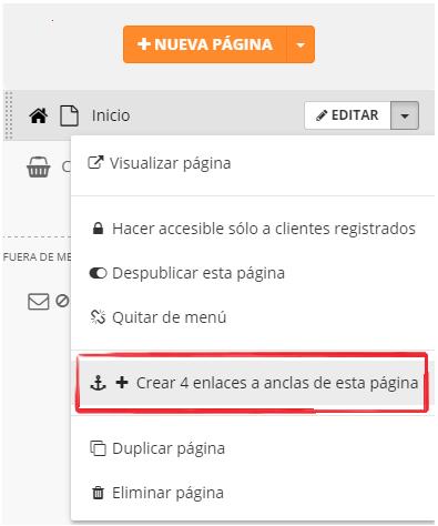crear enlaces a anclas html con editor