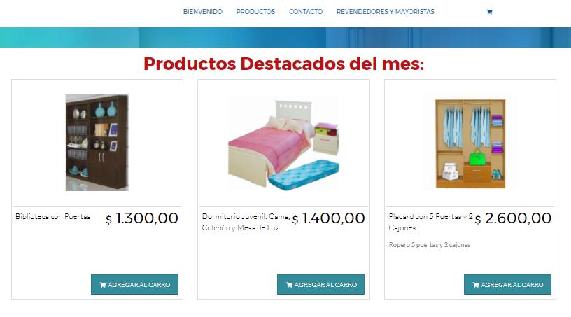 productos destacados del mes