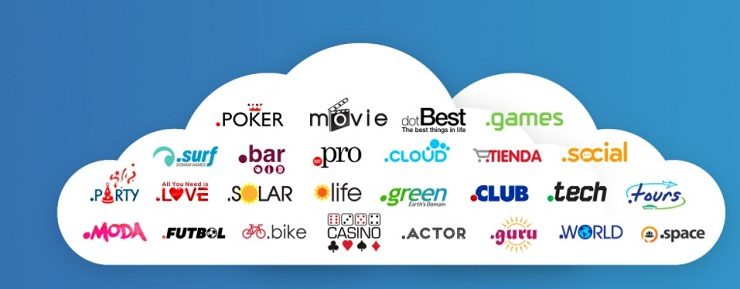 nuevas extensiones de dominios de internet