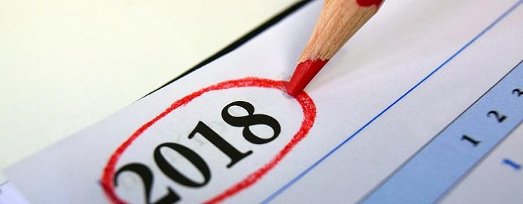 calendario community manager 2018