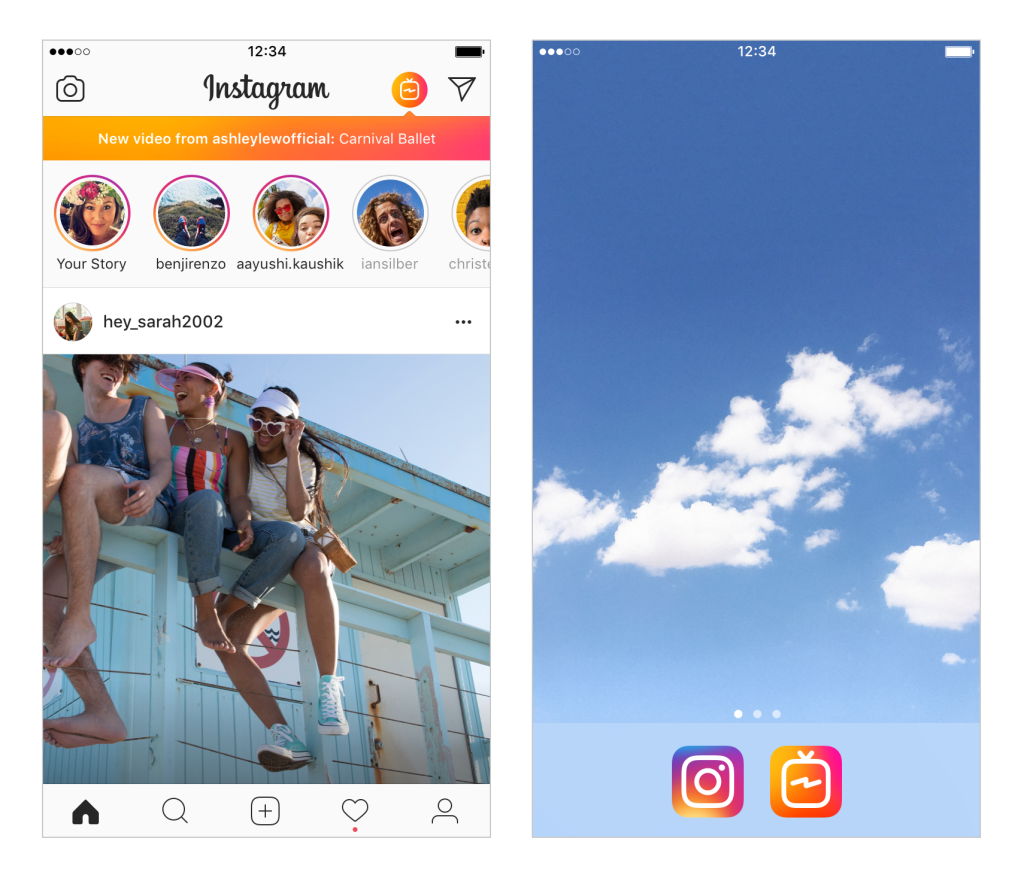 instagram tv como funciona