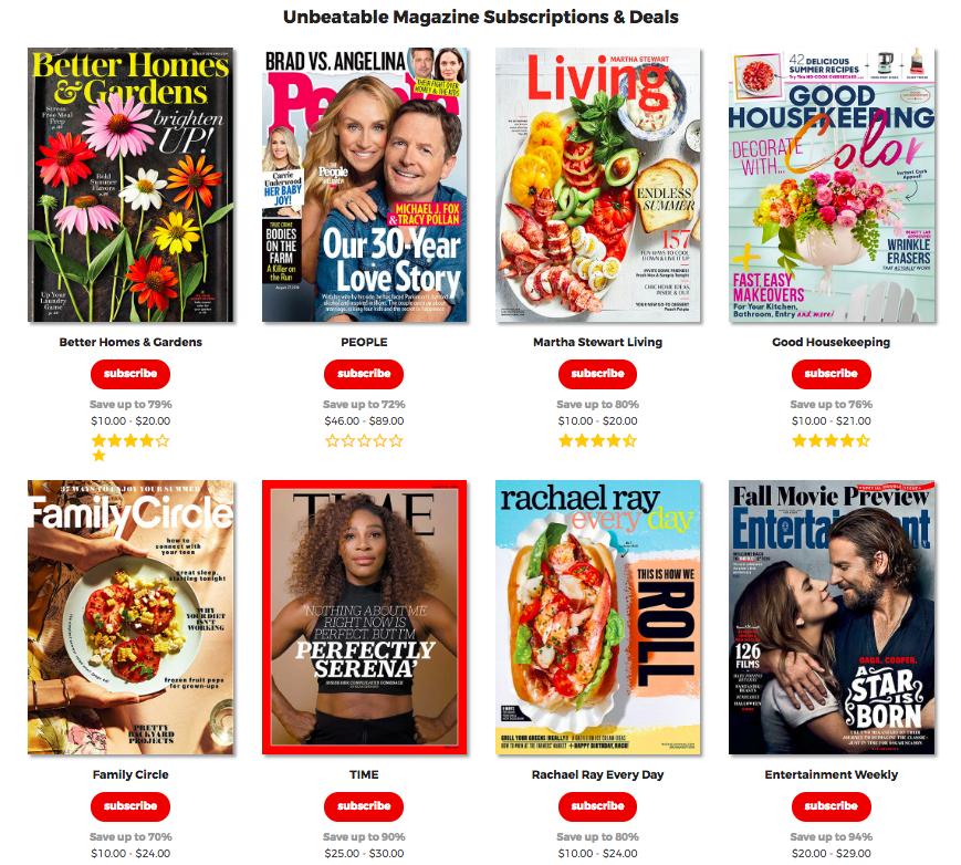 sitio online de magazine.store
