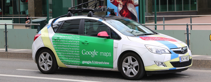 mensajes en google maps