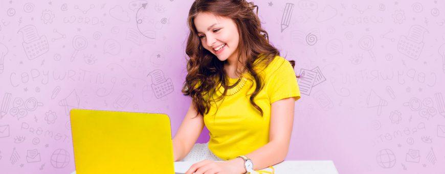 Como escribir en internet