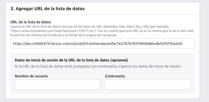 Crear catalogo facebook 5