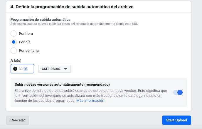 Crear catalogo facebook 6