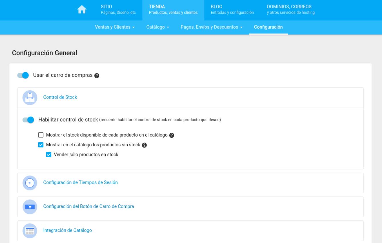 Habilita el botón de consulta a productos