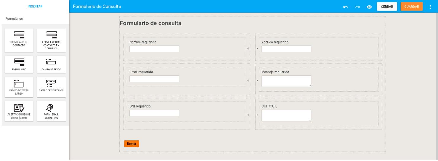 Puedes editar tu formulario