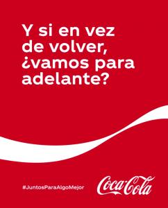 Frase motivadora Coca-Cola