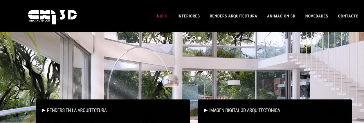 Ejemplo imagen principal de web deNexarq